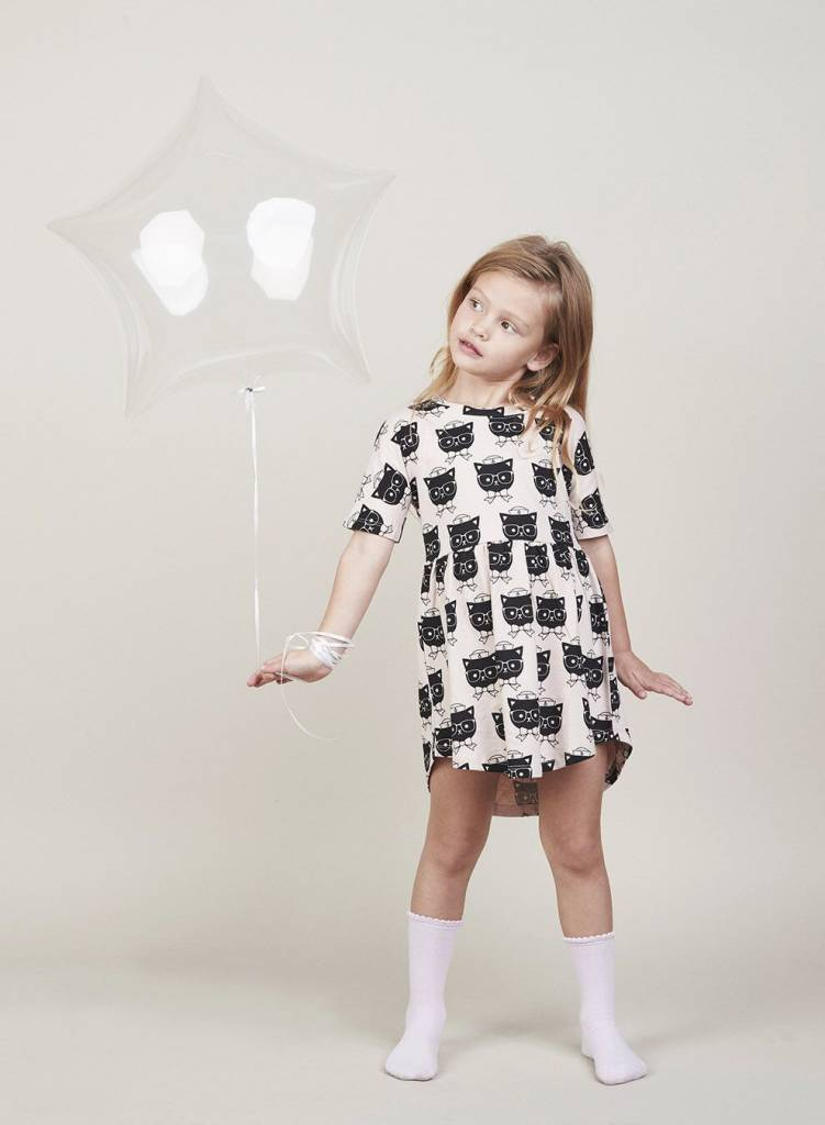 HUX BABY Sailor Cat Swirl Dress