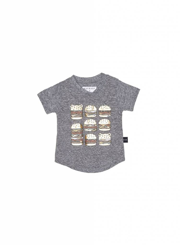 HUX BABY Square Burger T Shirt