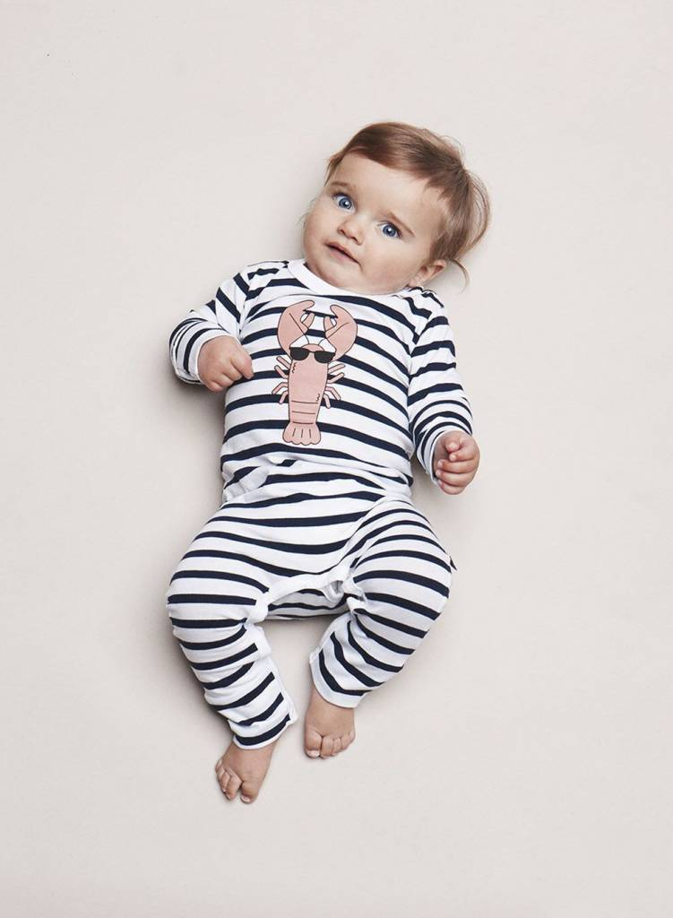 HUX BABY Lobster Romper