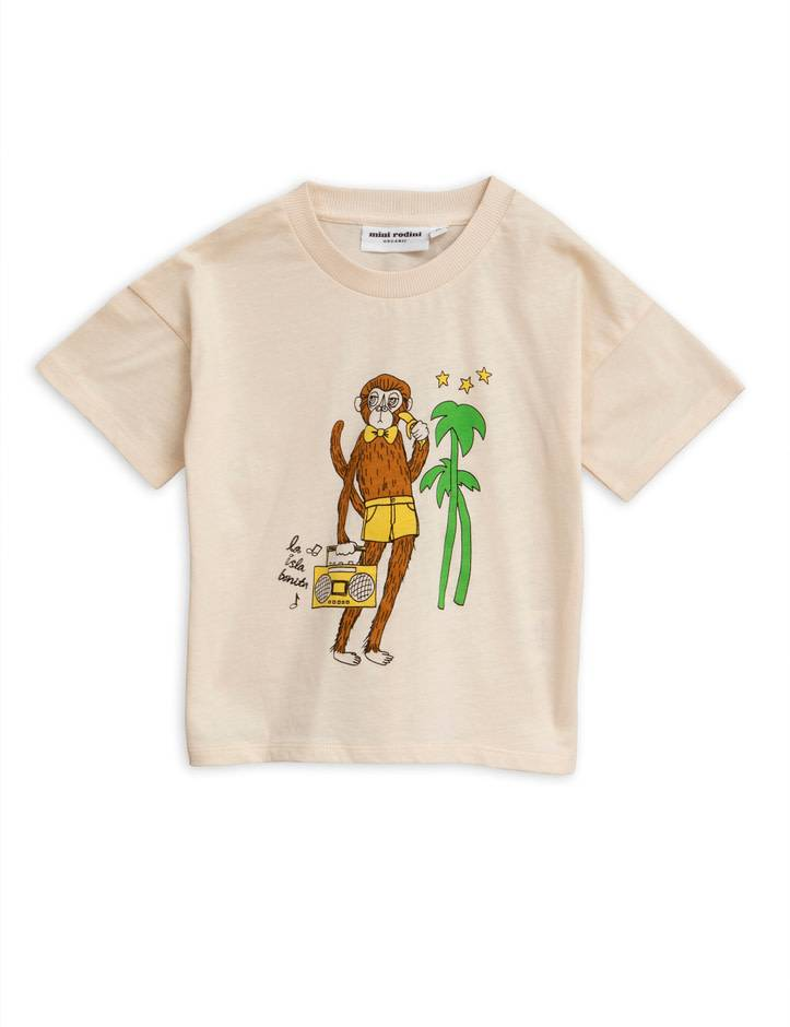 MINI RODINI Cool Monkey Tee