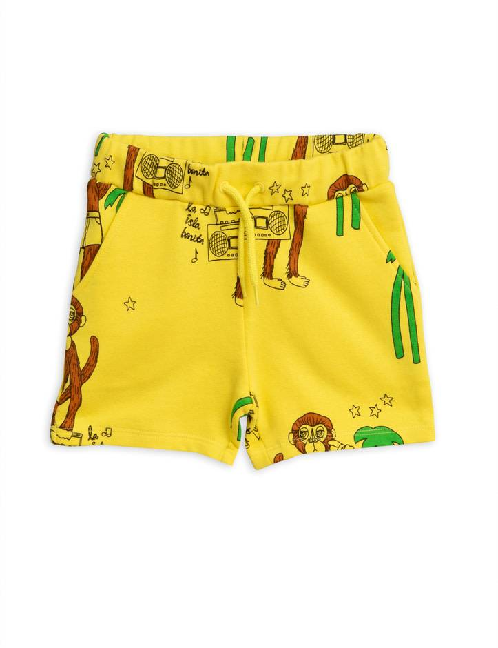MINI RODINI Cool Monkey Sweatshort
