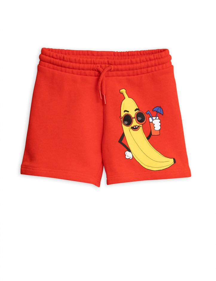MINI RODINI Banana Sweatshorts
