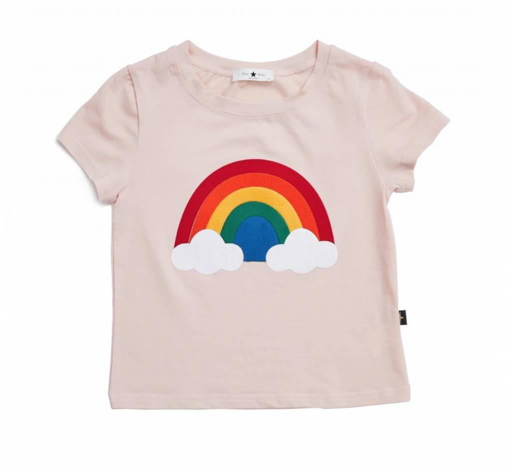 PETITE HAILEY Baby Rainbow T Shirt