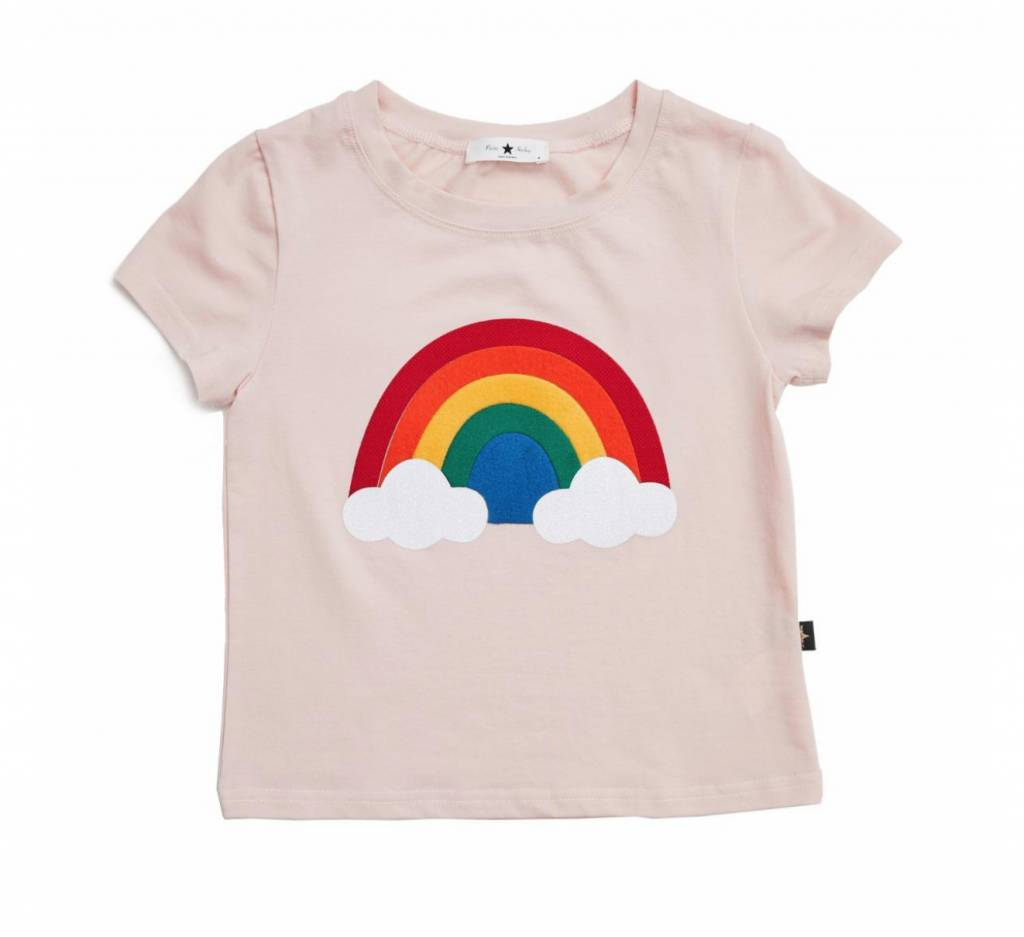 PETITE HAILEY Rainbow T Shirt