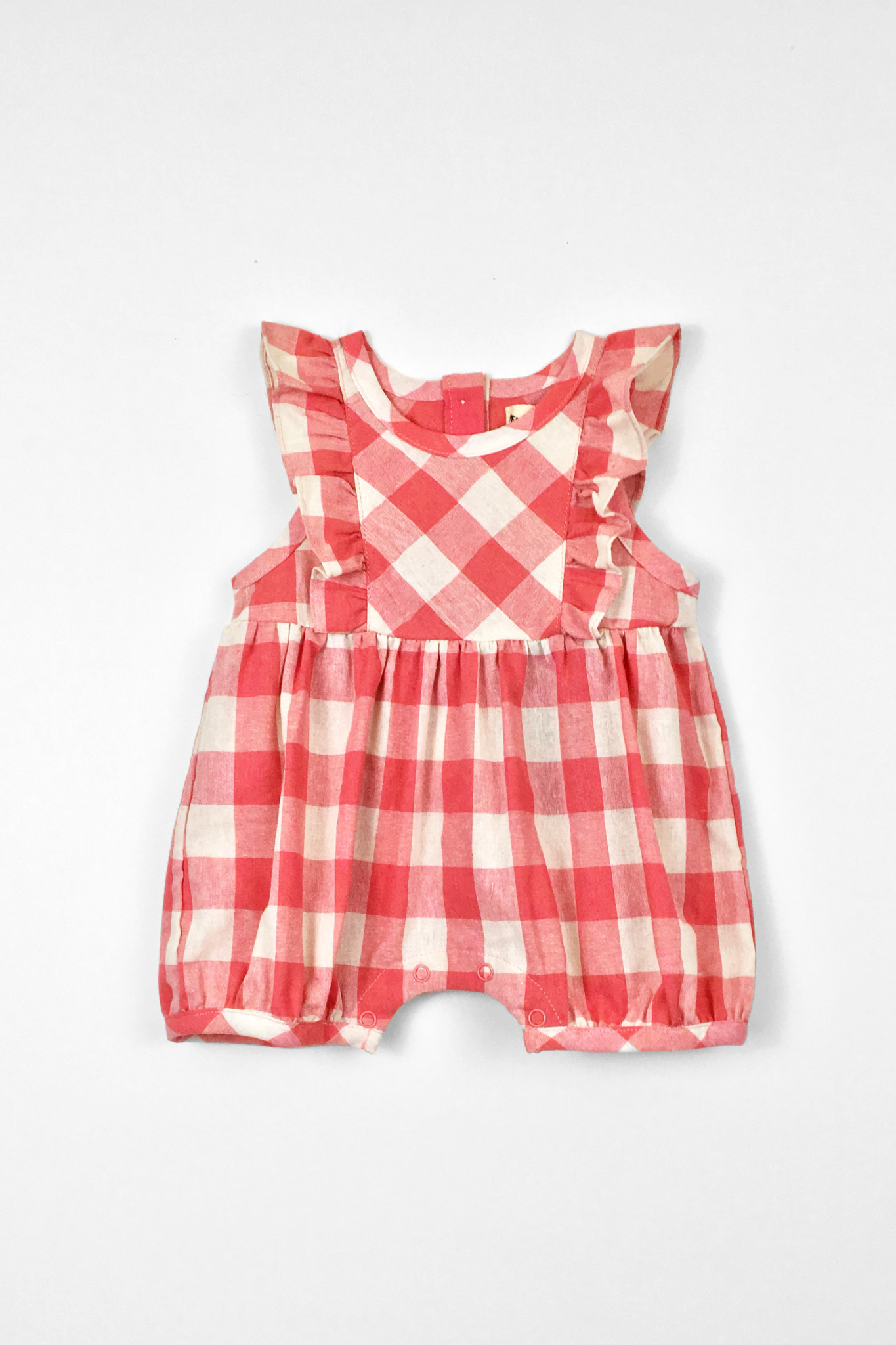 PEAS AND QUEUES Anne Baby Romper