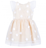 HUCKLEBONES Flutter Sleeve Bodice Dress