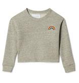PLUM Summer Cropped Sweatshirt