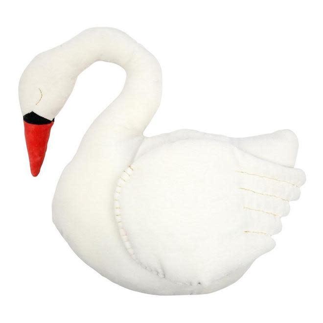 MERI MERI Velvet Swan Cushion