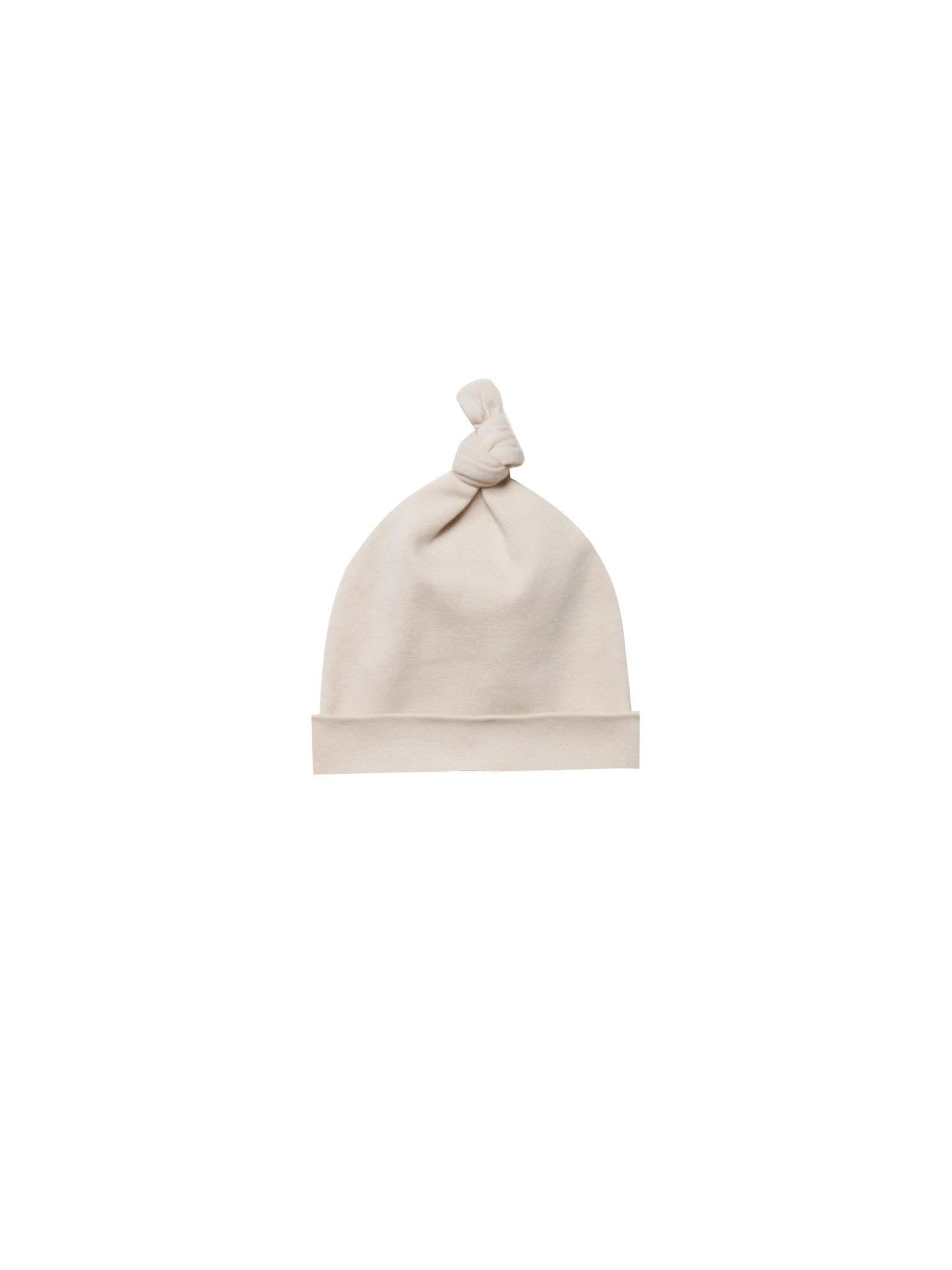 QUINCY MAE Organic Knotted Baby Hat