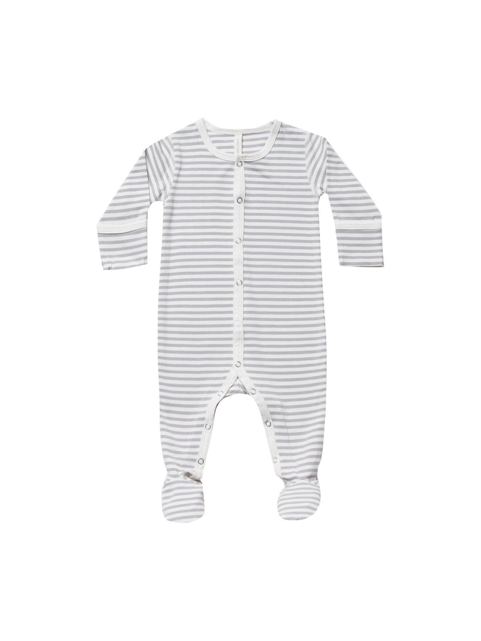 QUINCY MAE Organic Full Snap Footie