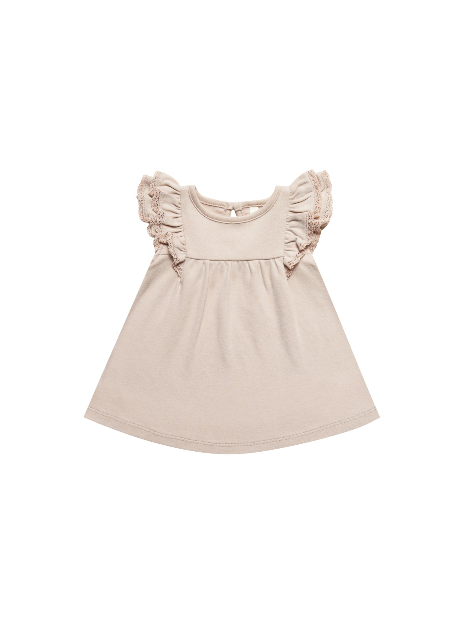 QUINCY MAE Organic Flutter Dress
