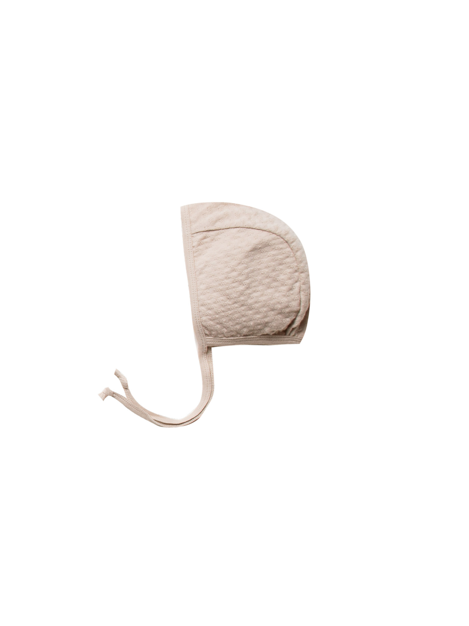 QUINCY MAE Organic Pointelle Baby Bonnet