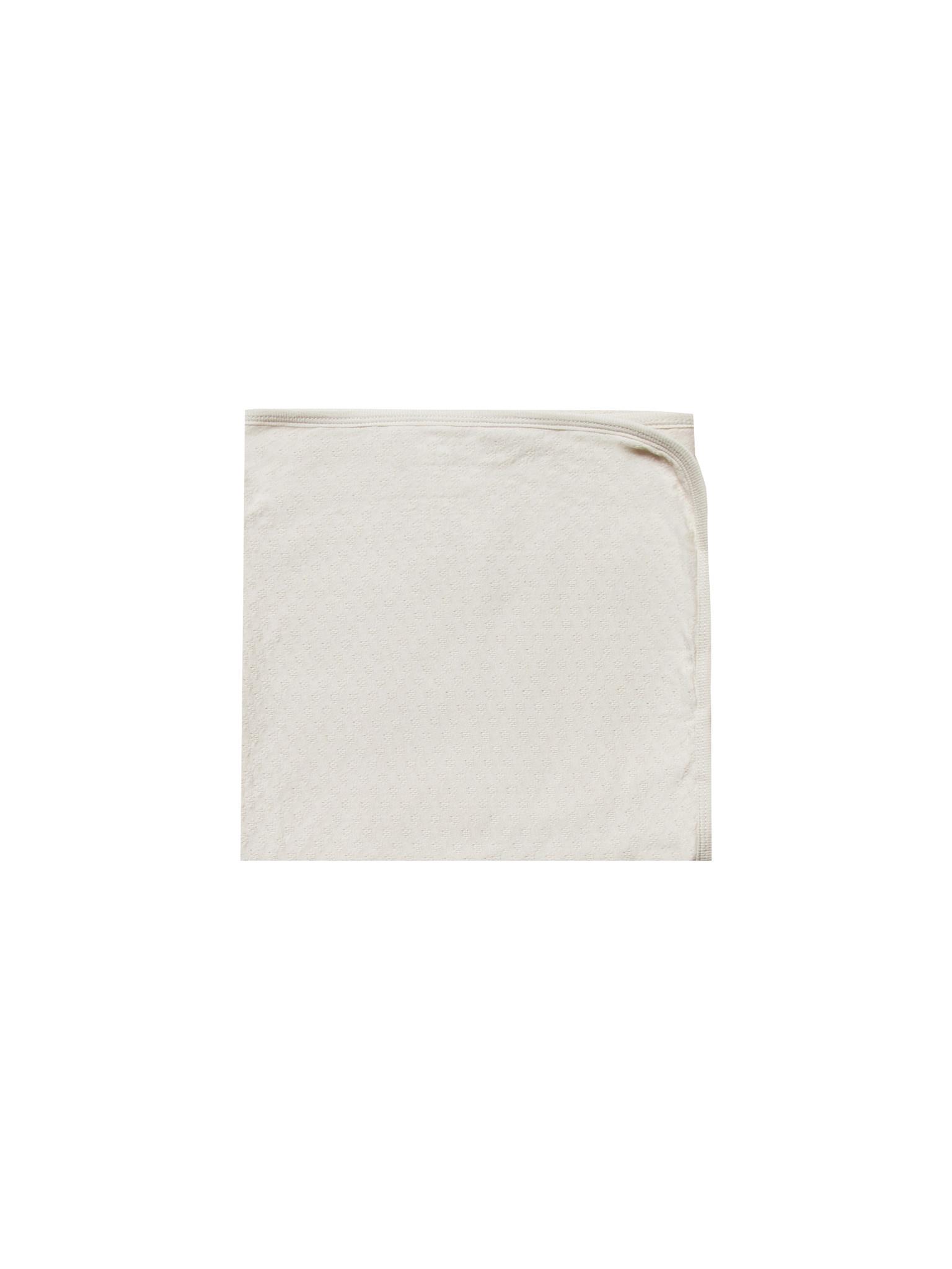 Organic Pointelle Baby Blanket