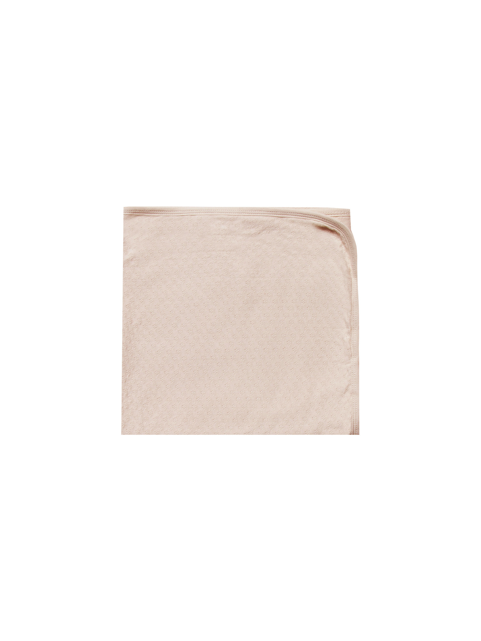 QUINCY MAE Organic Pointelle Baby Blanket