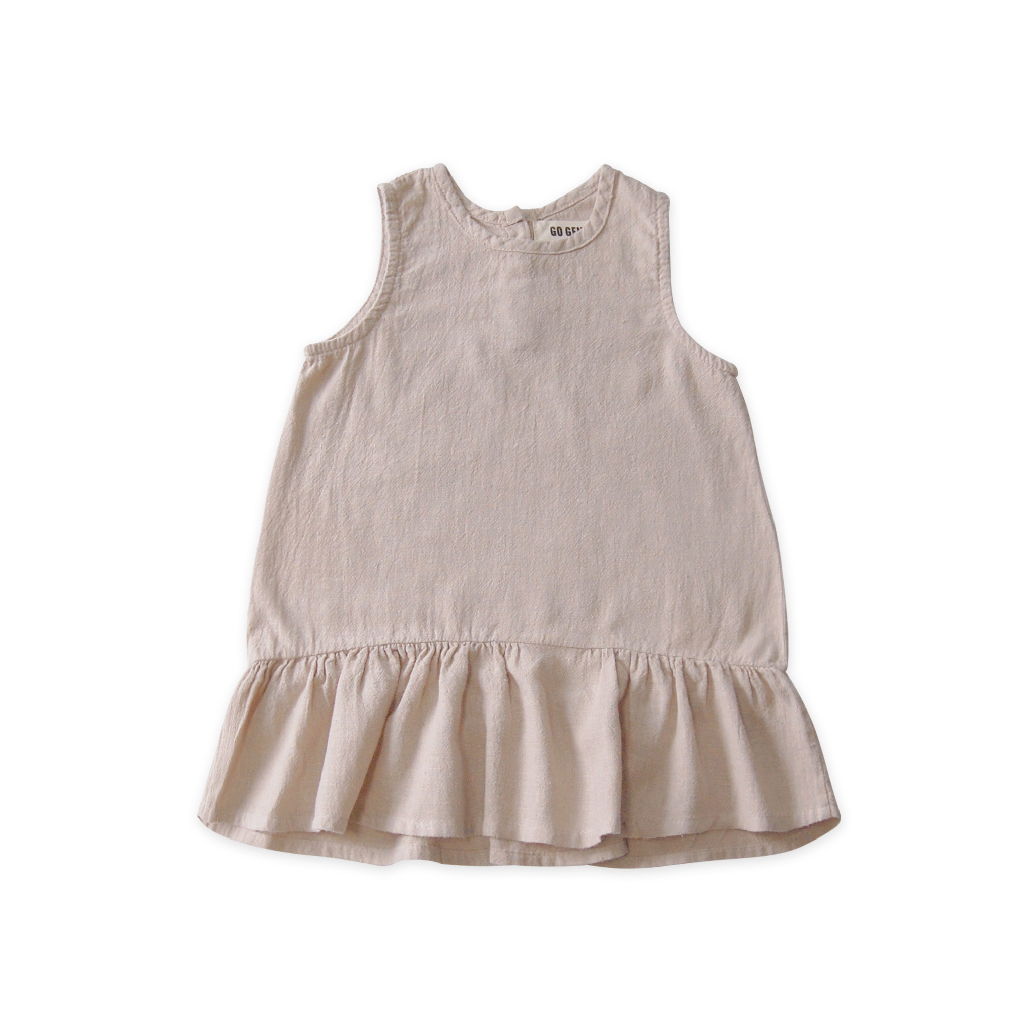 GOGENTLYNATION Ruffle Hem Dress