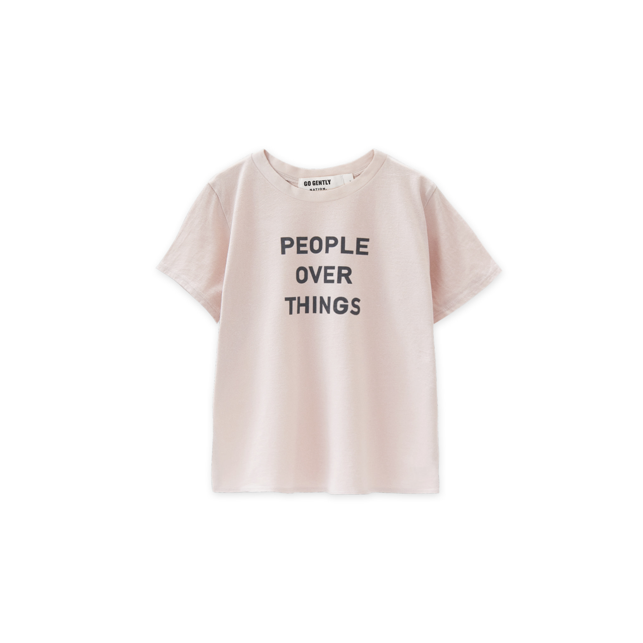 GOGENTLYNATION People Over Things Tee