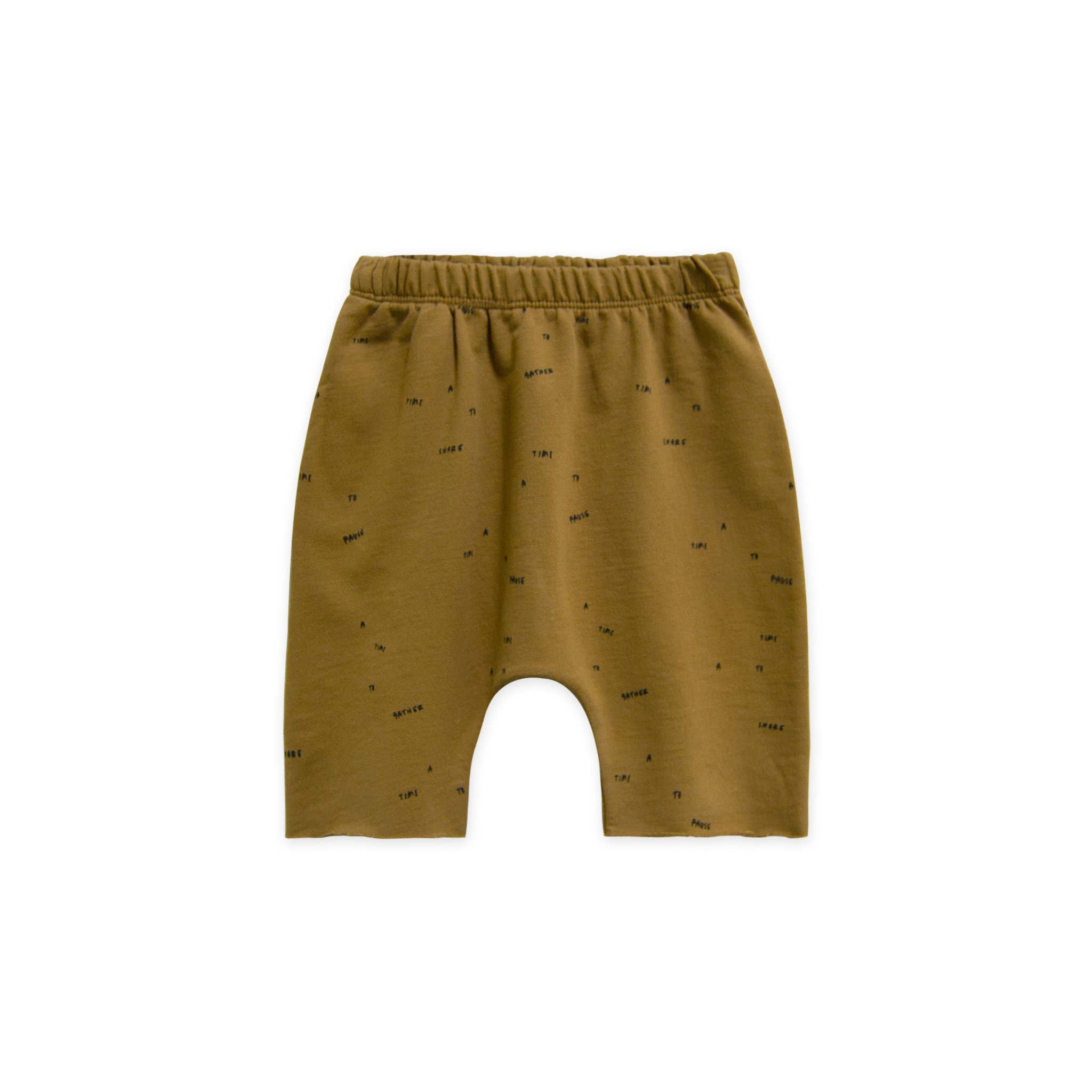 GOGENTLYNATION French Terry Harem Shorts