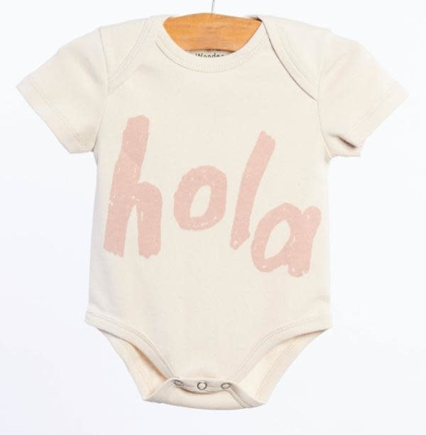 WANDER AND WONDER Hola Onesie
