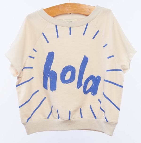 WANDER AND WONDER Hola Sweat Top