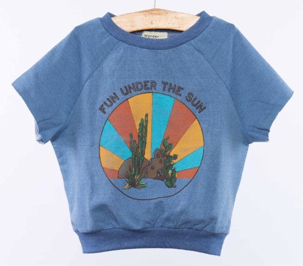 WANDER AND WONDER Fun In The Sun Sweat Top
