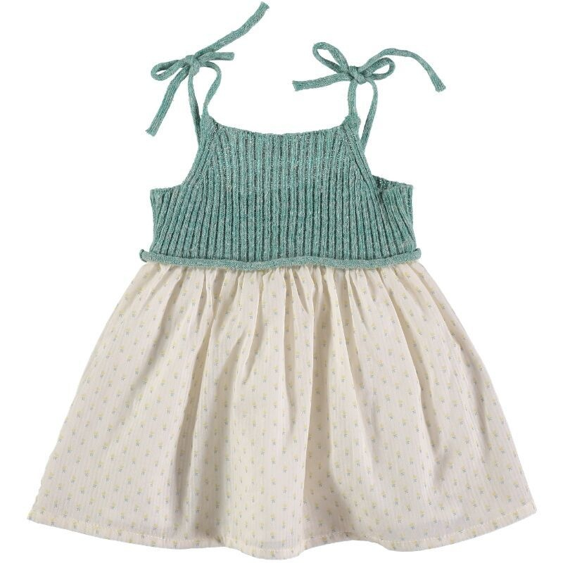 BUHO Berta Knitt And Viole Baby Dress