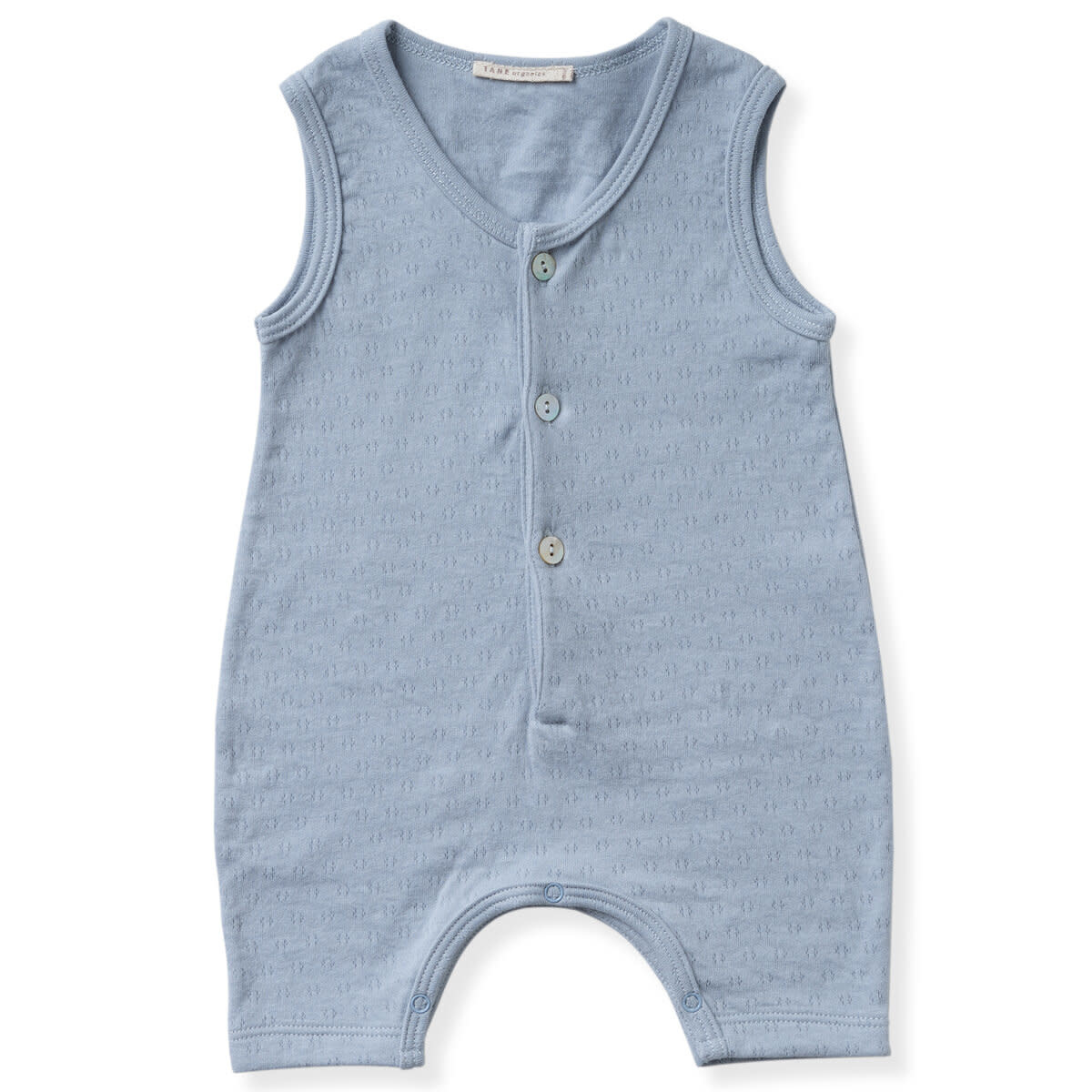 TANE ORGANICS Sleeveless Henley Playsuit