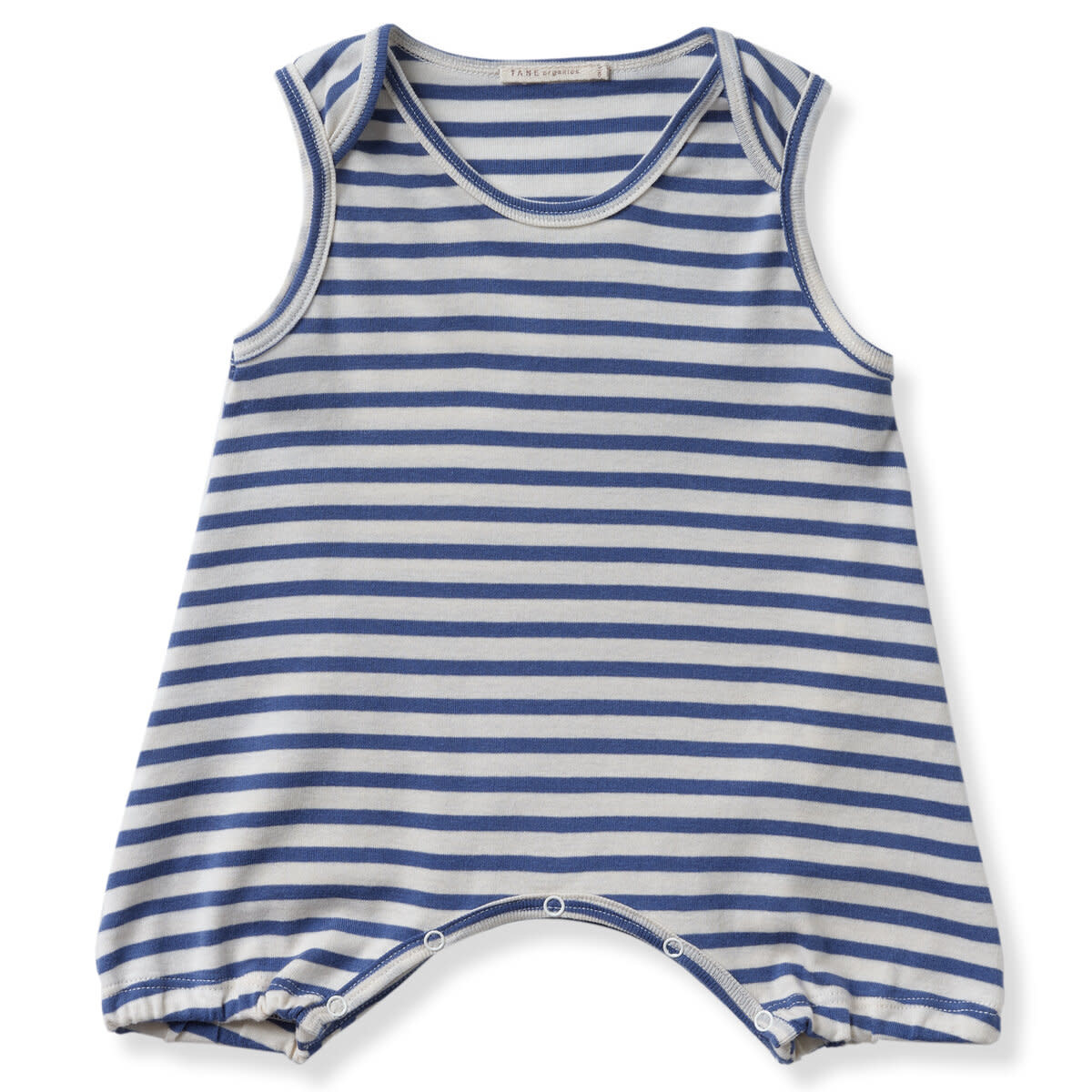 TANE ORGANICS Striped Sleeveless Romper