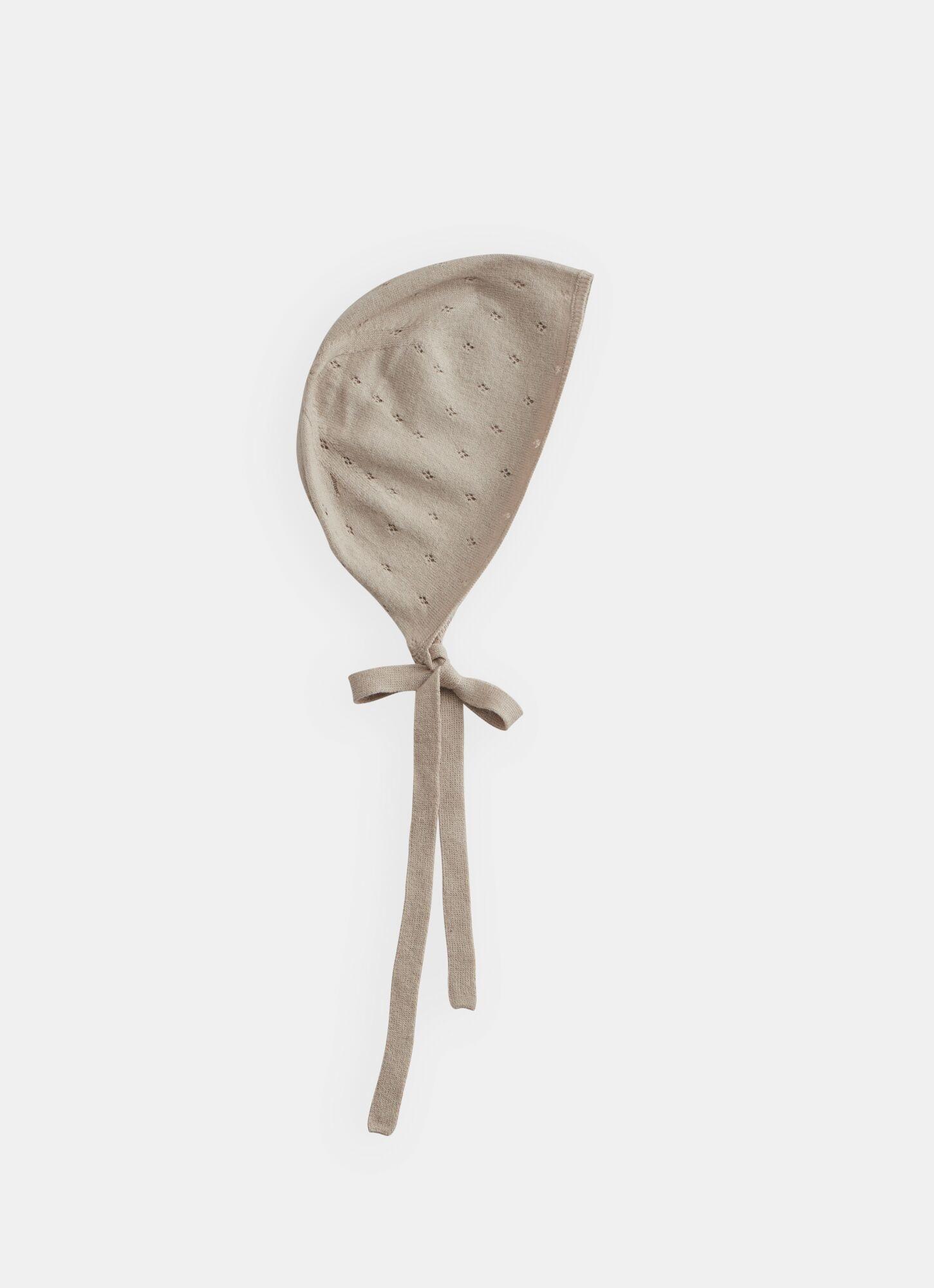 BELLE ENFANT Pointelle Bonnet