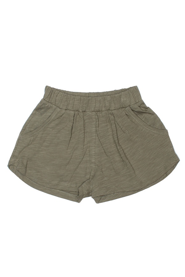 JOAH LOVE Amal Solid Jersey Shorts