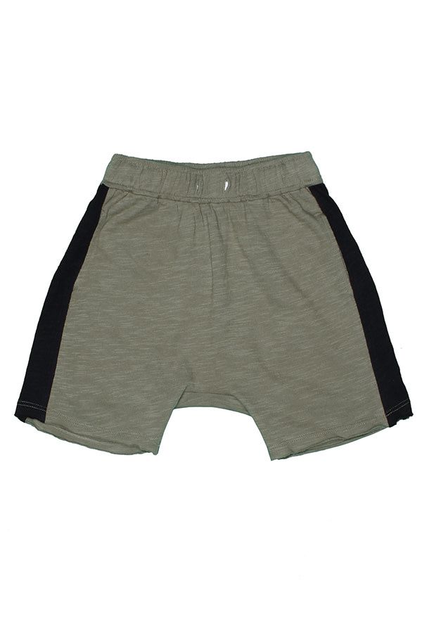 JOAH LOVE Nash Jersey Shorts with Side Contrast