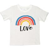 JOAH LOVE Rainbow Love Print Tee