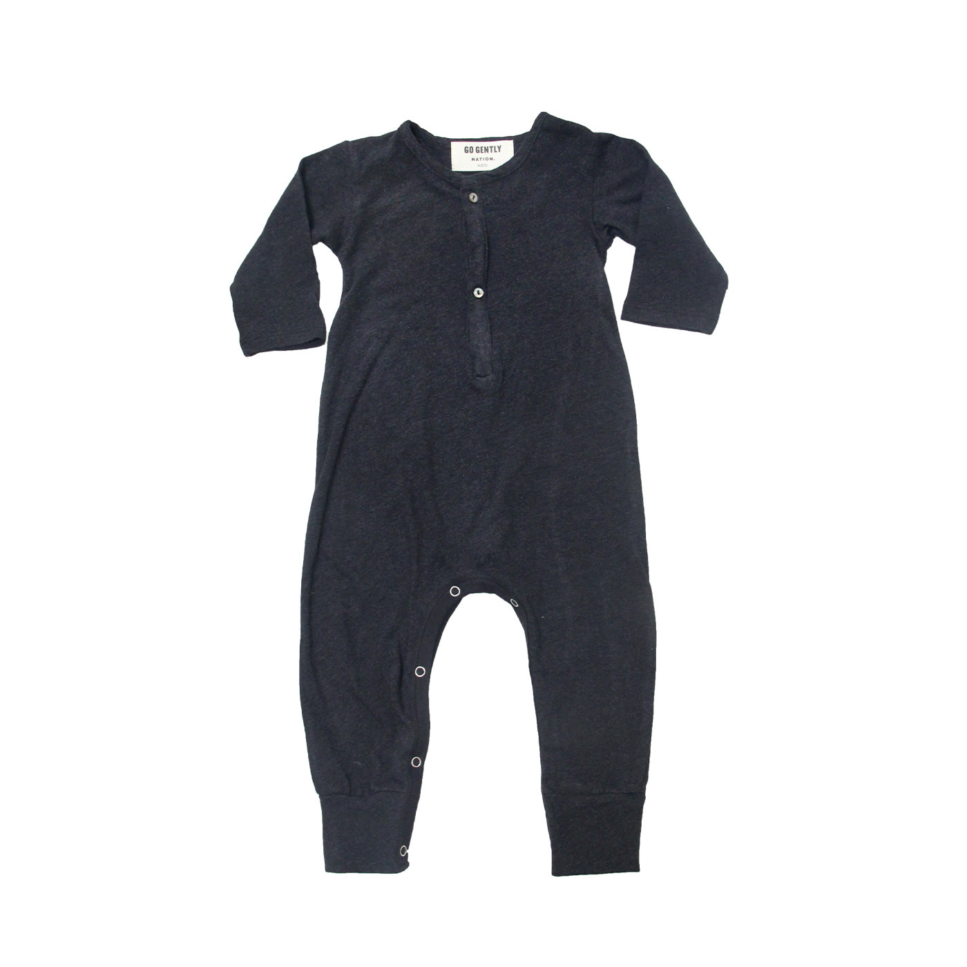 GOGENTLYNATION Jersey Playsuit