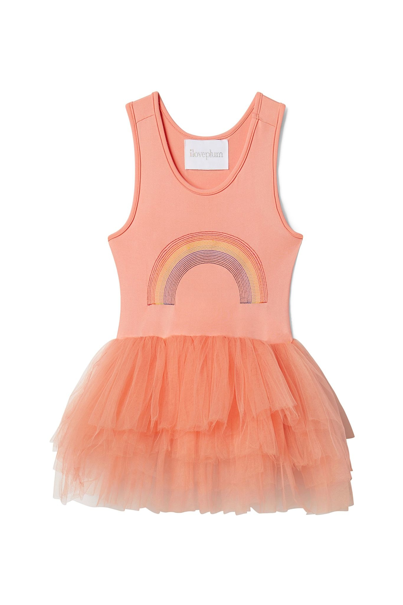 PLUM B.A.E. Rainbow Tutu Dress