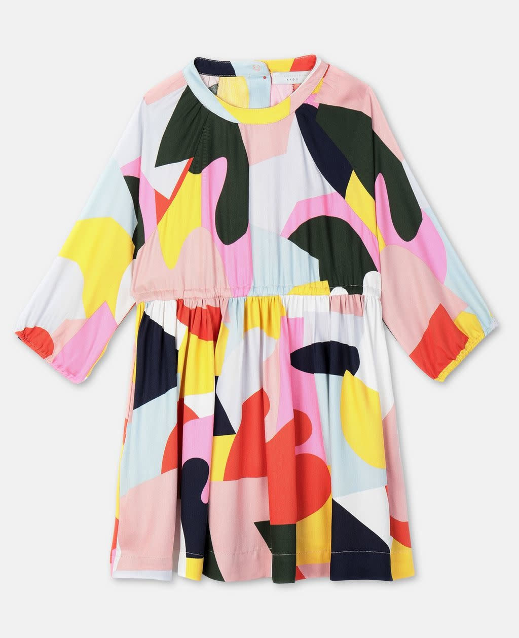 STELLA MCCARTNEY Longsleeve Color Block Dress