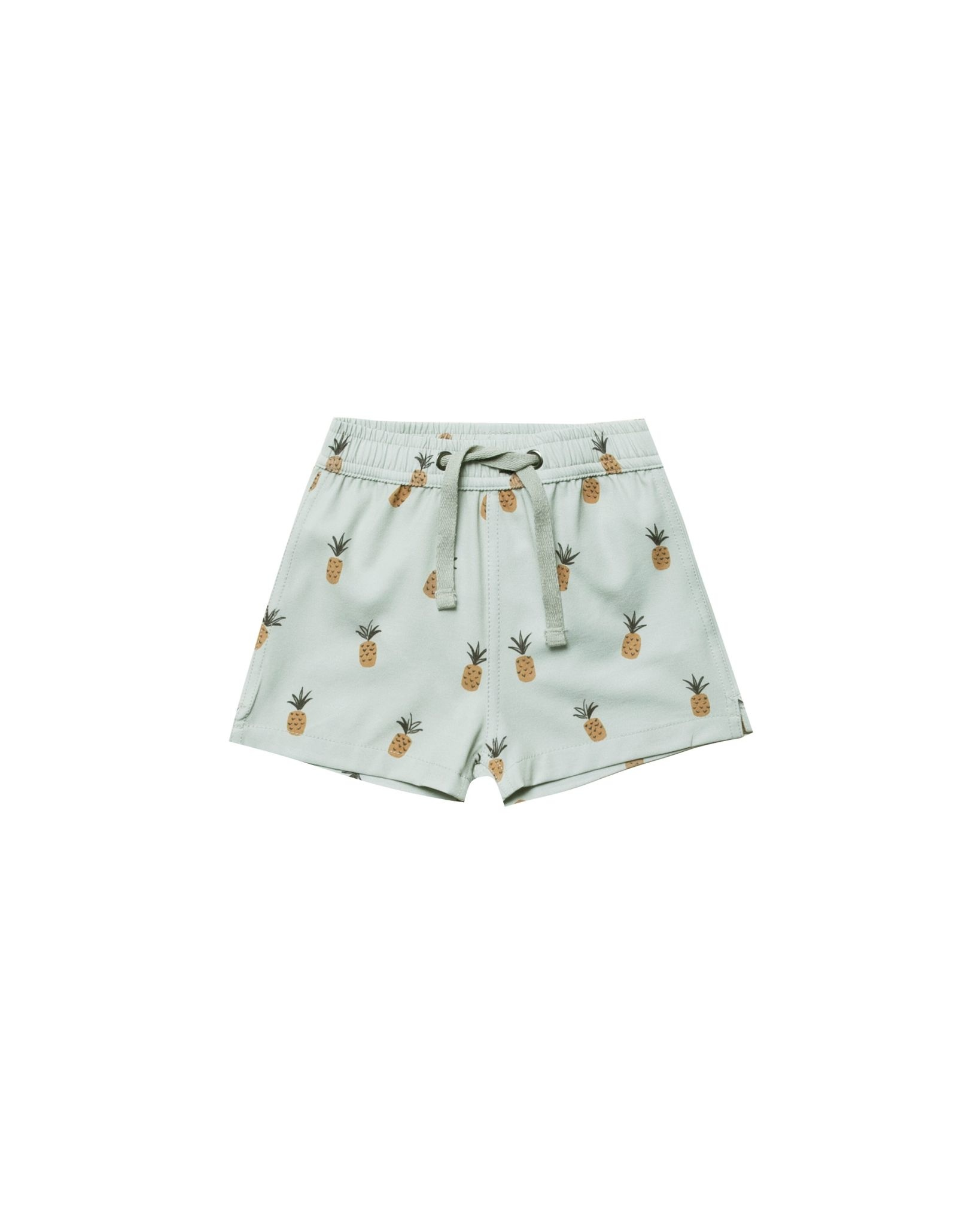 RYLEE AND CRU Pineapples Swim Trunk