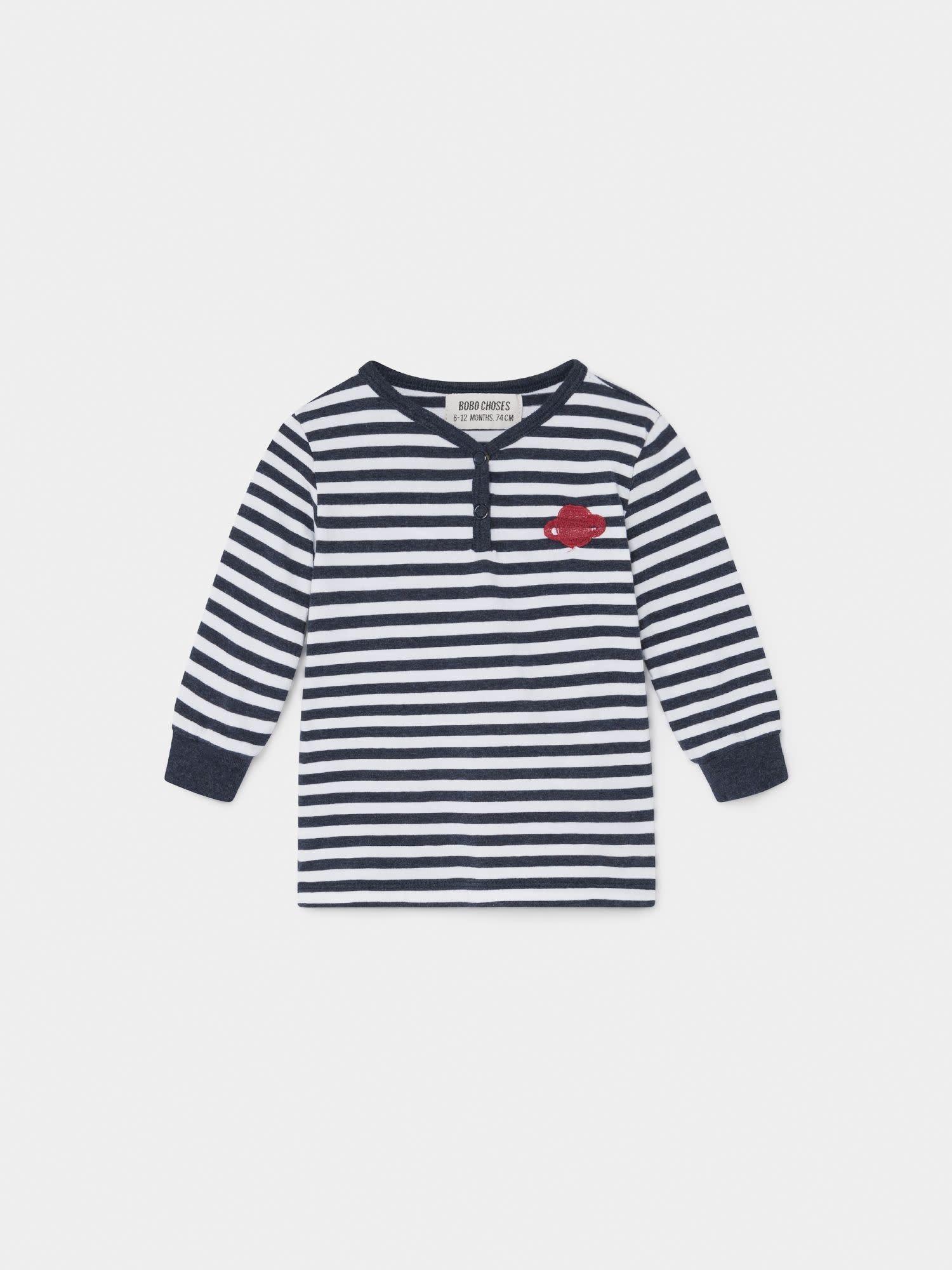 BOBO CHOSES Saturn Buttons T-Shirt