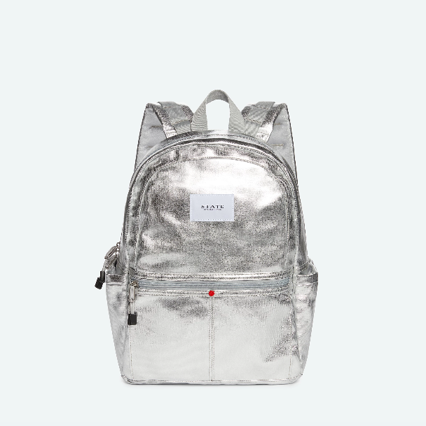 STATE BAGS Kane Backpack Metallic Silver