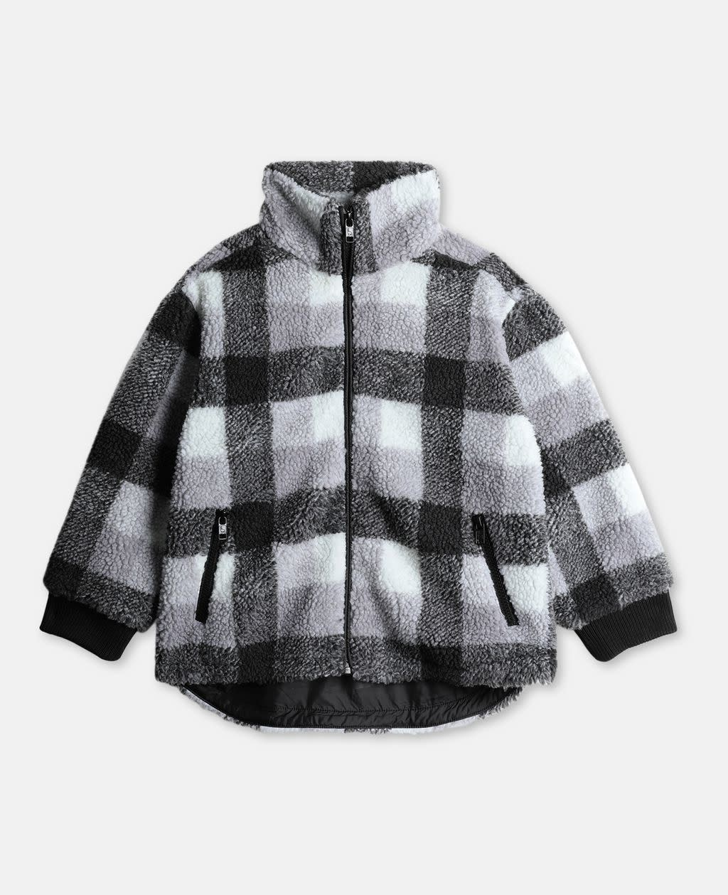 STELLA MCCARTNEY Check Teddy Jacket