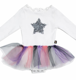 PETITE HAILEY Baby 3 Color Tutu Dress