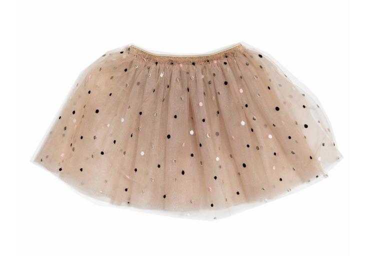 PETITE HAILEY Dot Alexa Skirt