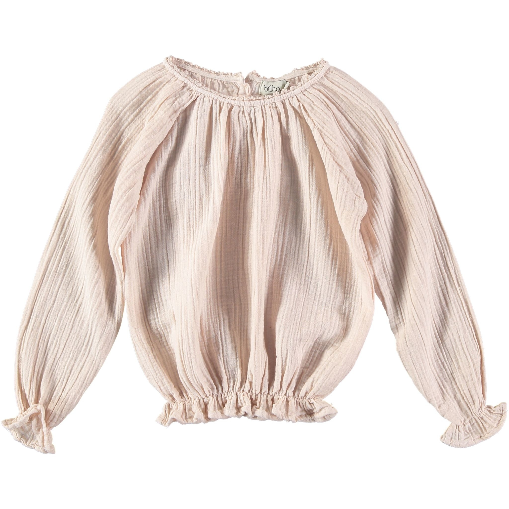 BUHO Camille Cotton Gauze Blouse