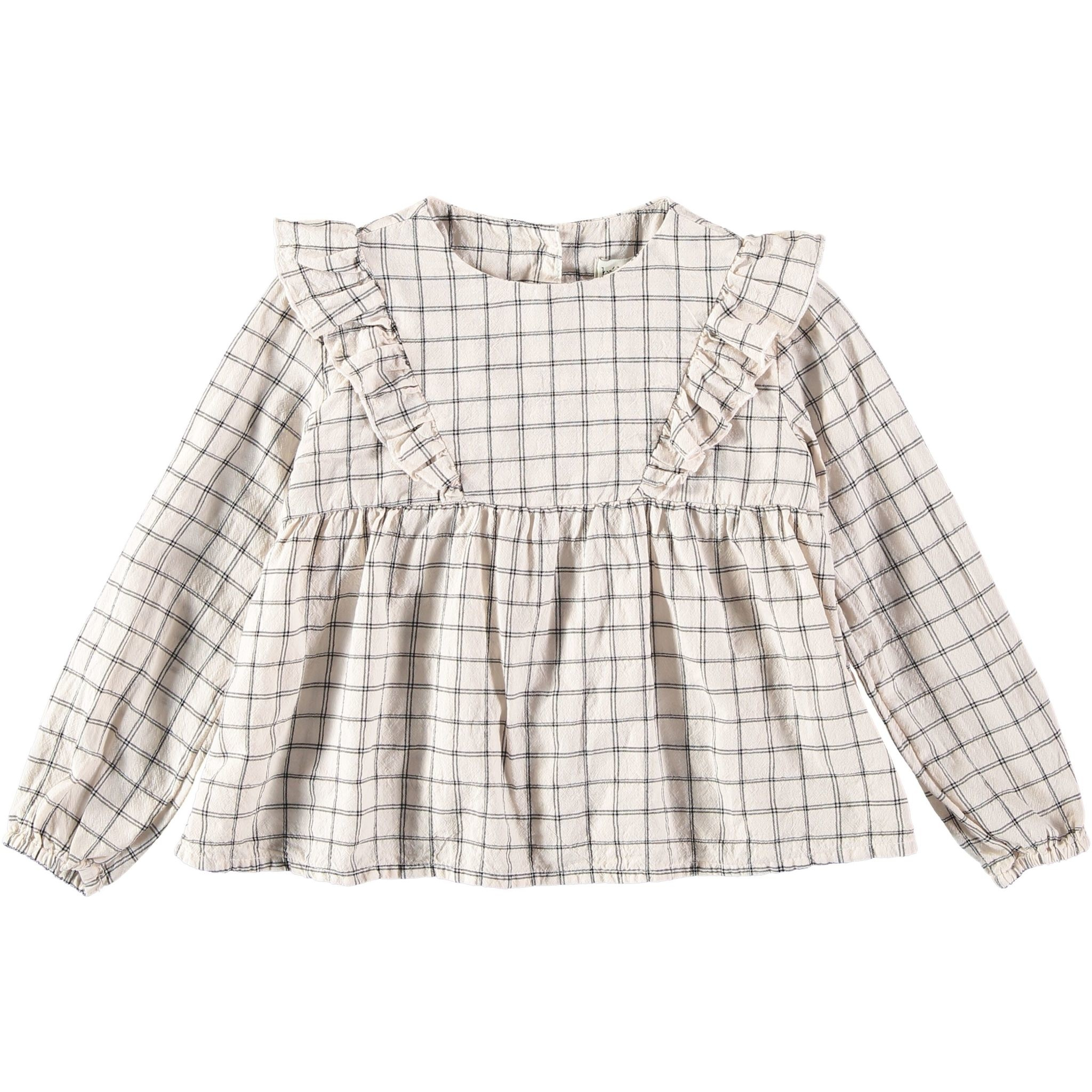 BUHO Julia Check Blouse