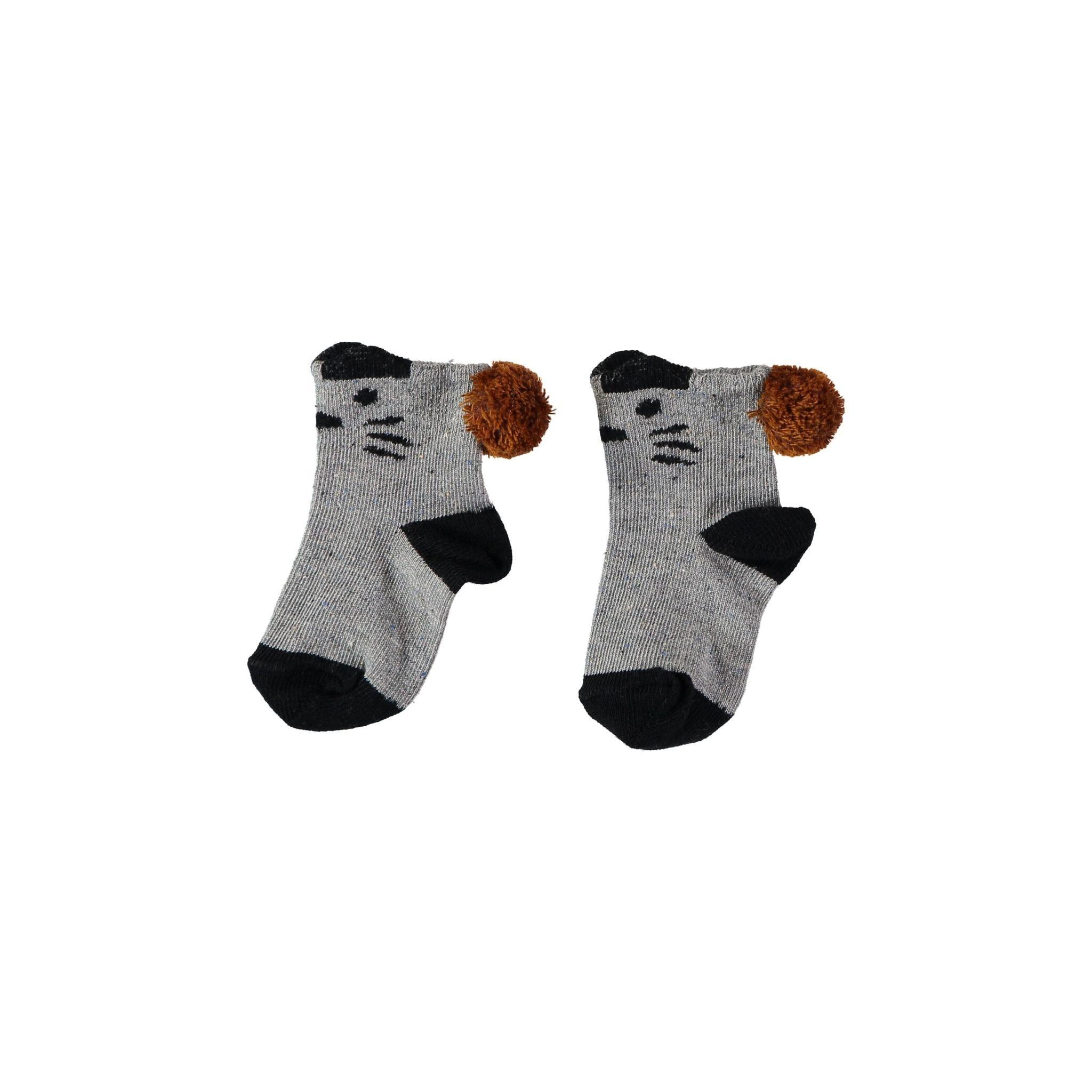 BUHO Tiger Melange Baby Socks