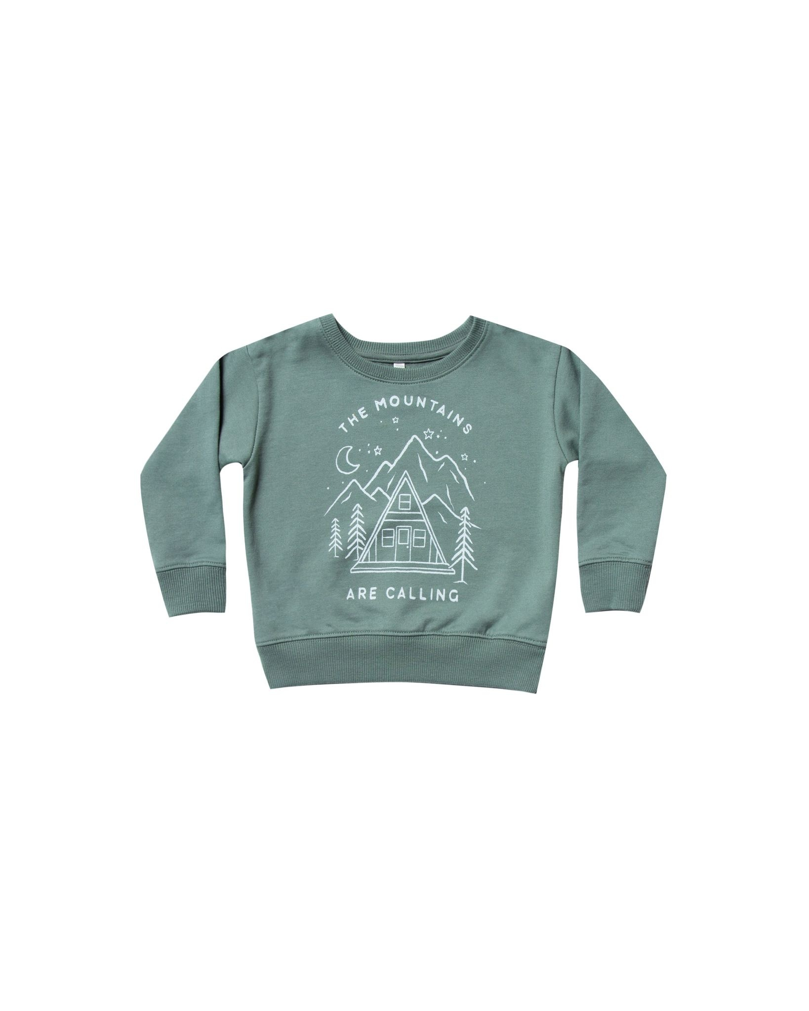 RYLEE AND CRU Mountains Are Calling Baby Sweatshirt