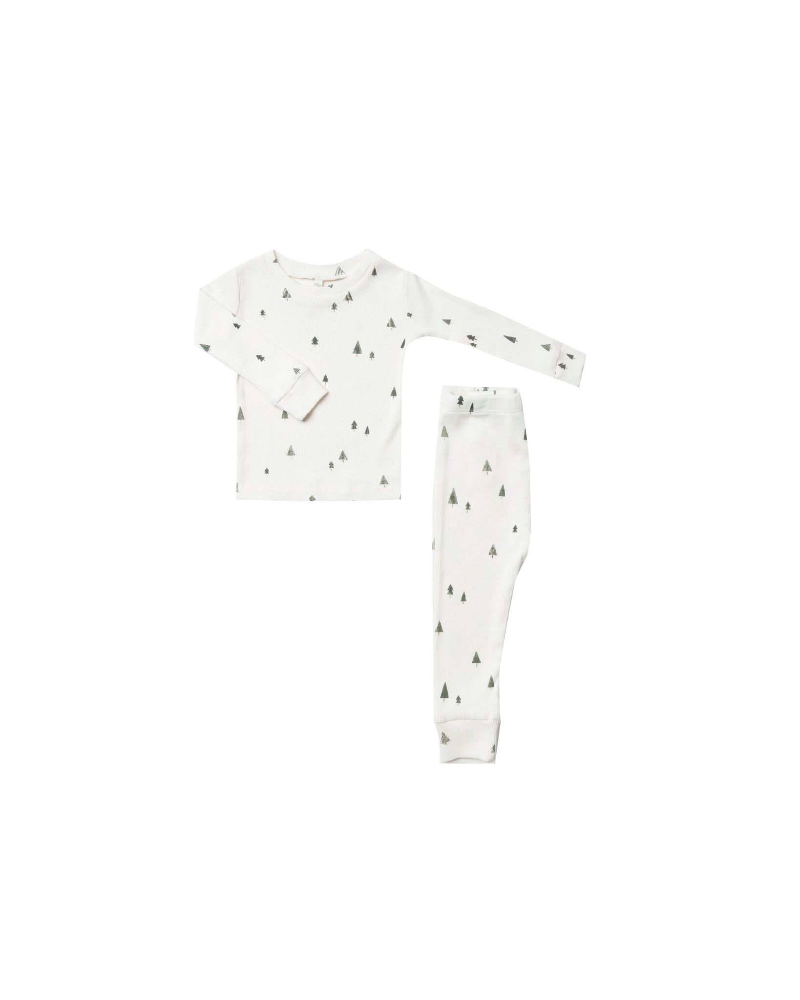 RYLEE AND CRU Trees Pajama Set