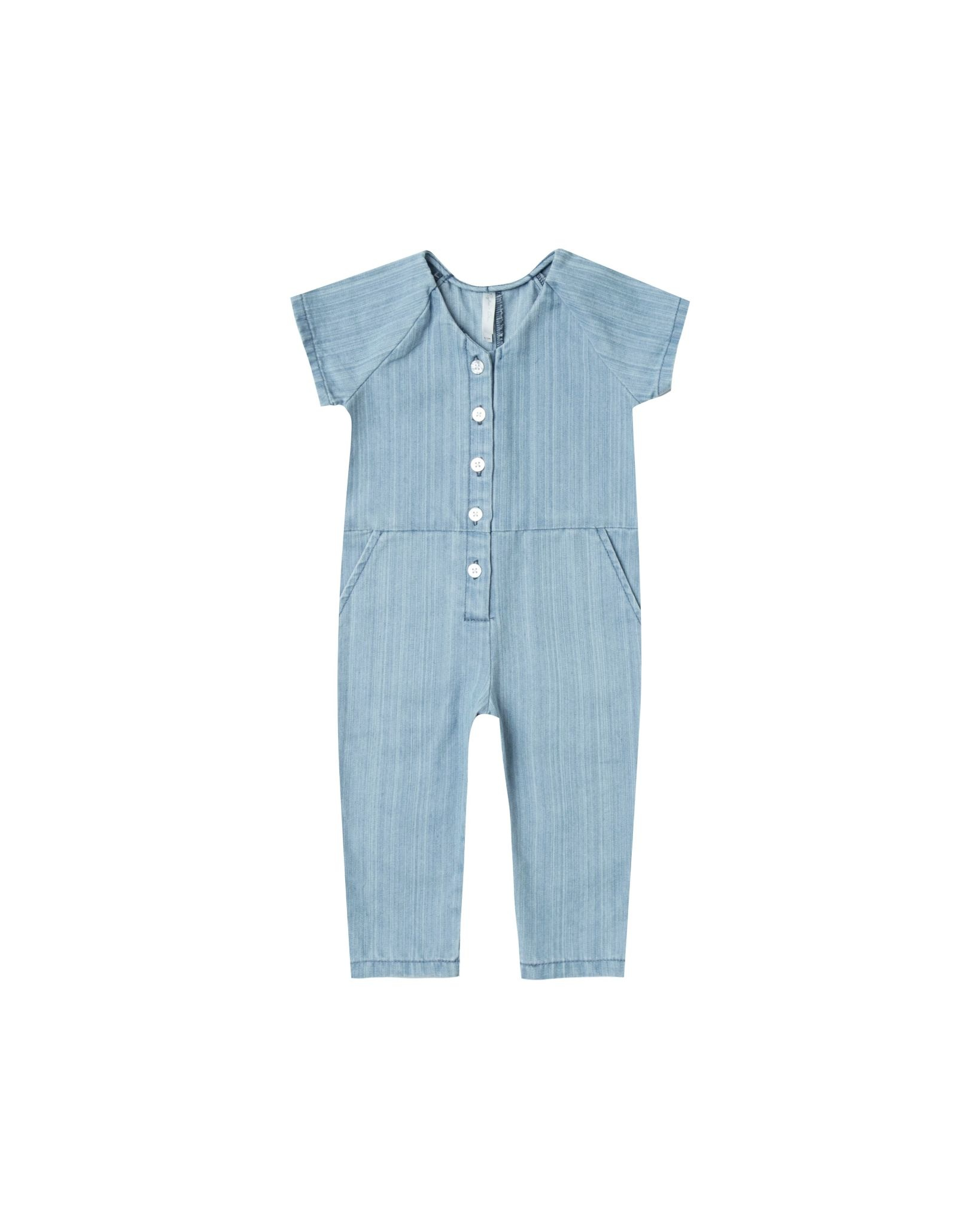 RYLEE AND CRU Utility Baby Jumpsuit