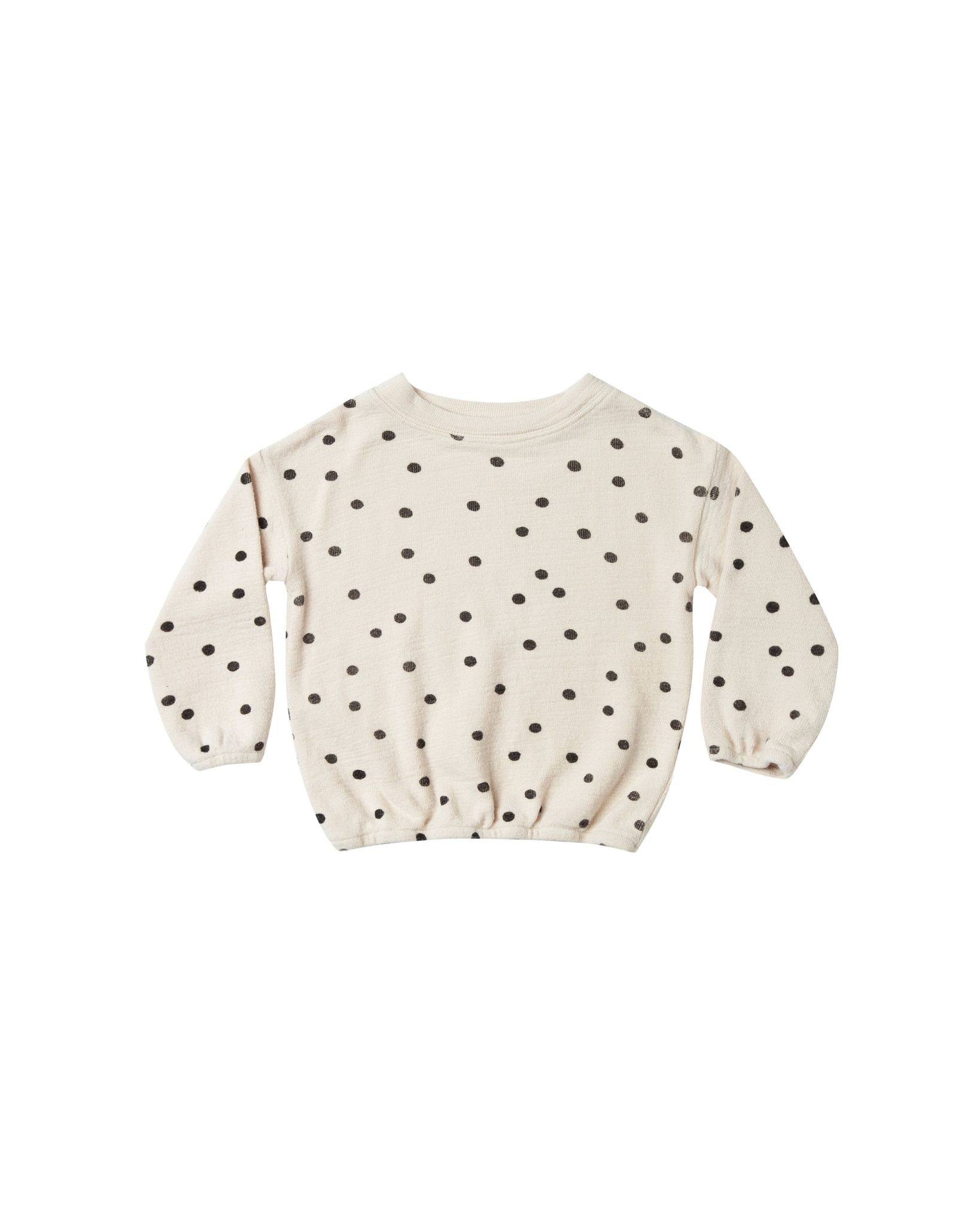 RYLEE AND CRU Dot Pullover Sweater