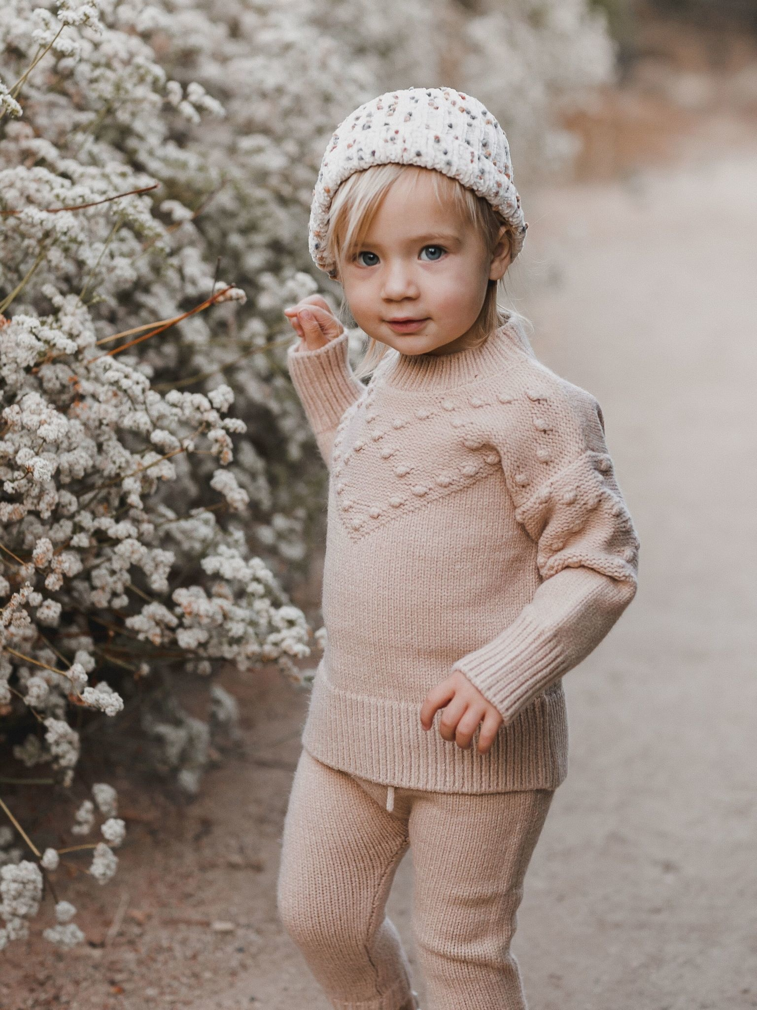 RYLEE AND CRU Bobble Sweater