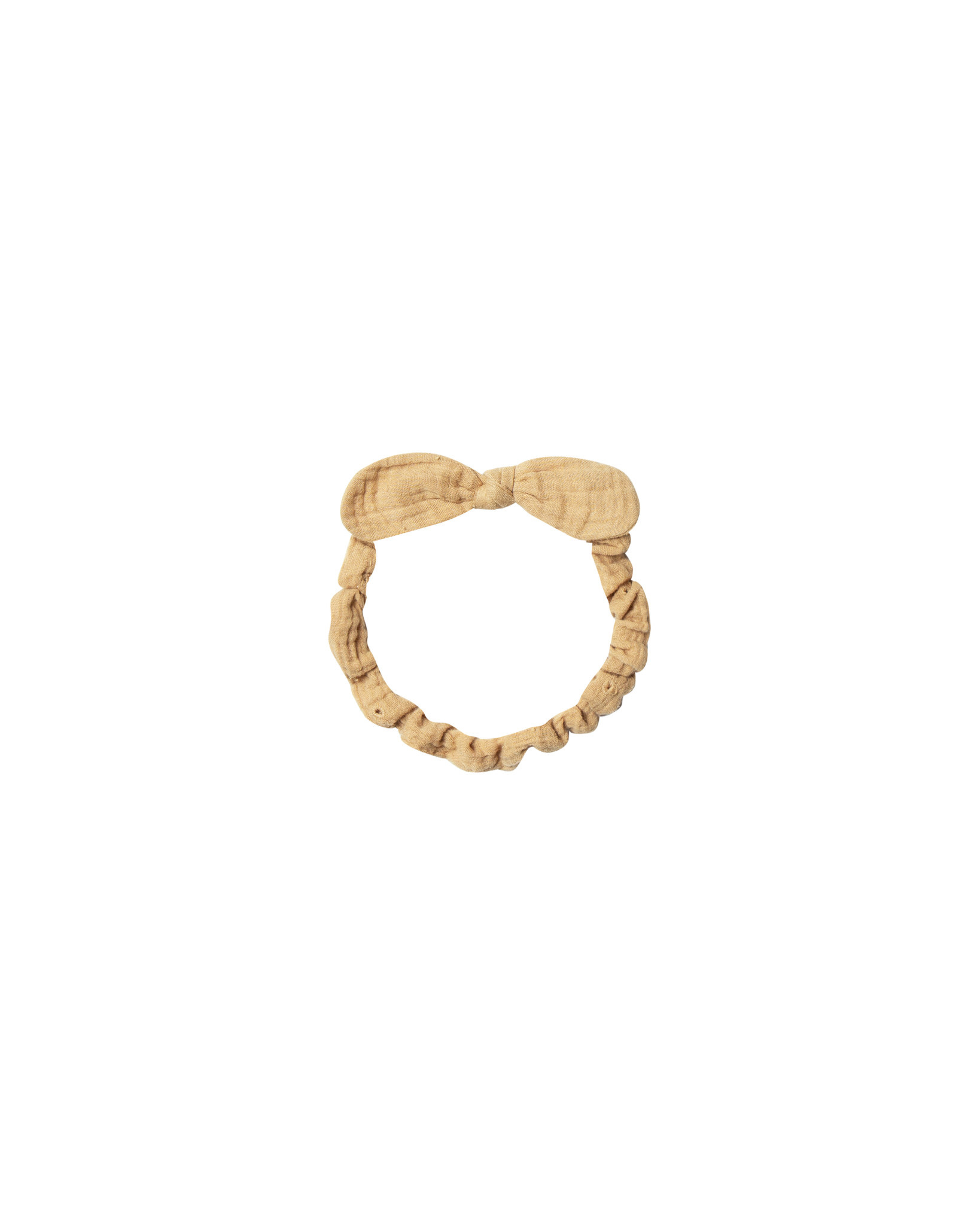 RYLEE AND CRU Baby Bow Headband Honey