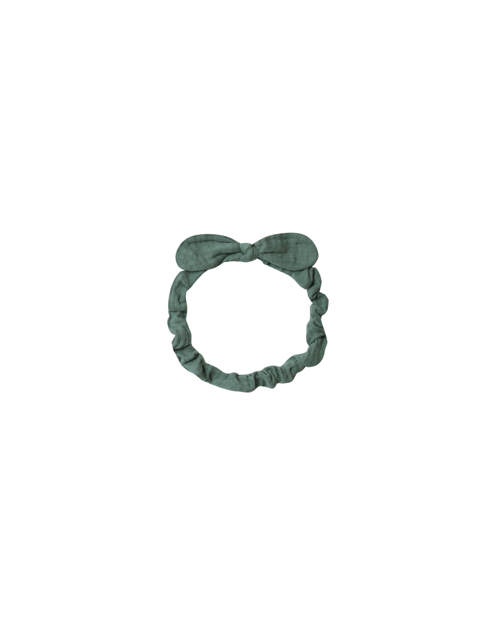 RYLEE AND CRU Baby Bow Headband Spruce